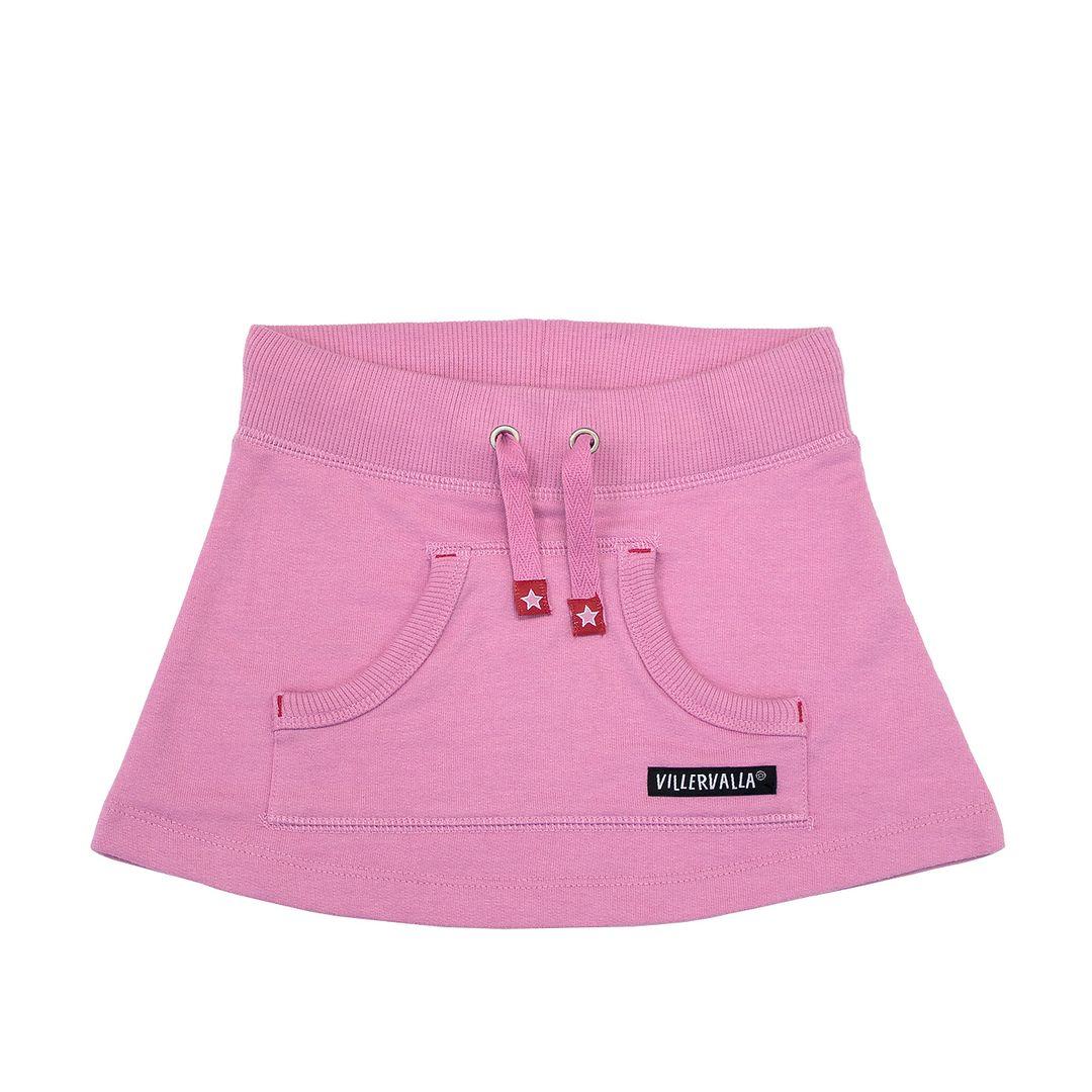 Villervalla kjol rosa