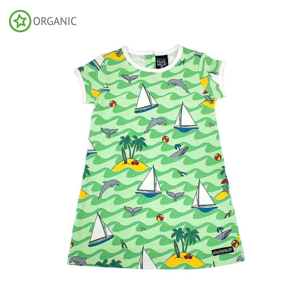 Villervalla klänning caribbean meadow