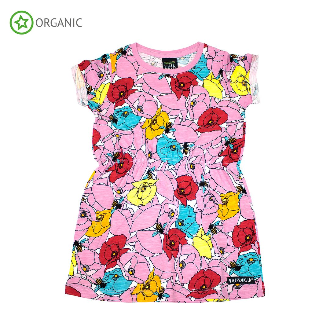 Villervalla klänning poppy