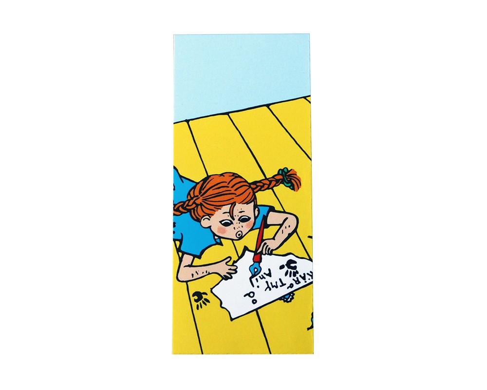 Pippi bokmärke