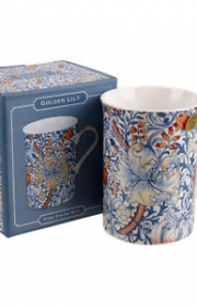 William Morris golden lily mugg