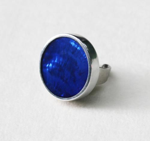 culture mix ring blue