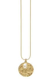 Dansk Amber Perle guld
