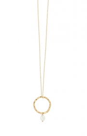 Dansk Audrey halsband guld