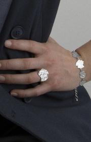 Dansk amelia ring bracelet