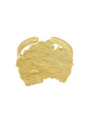 Dansk amelia ring guld