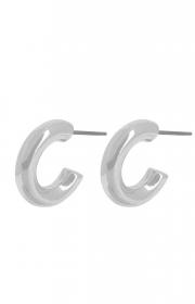 Dansk copenhagen infinity circle earring