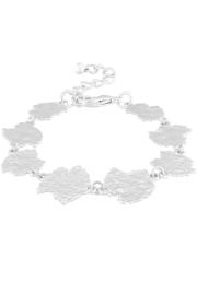 dansk amelia bracelet silver