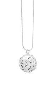 dansk daisy ball necklace